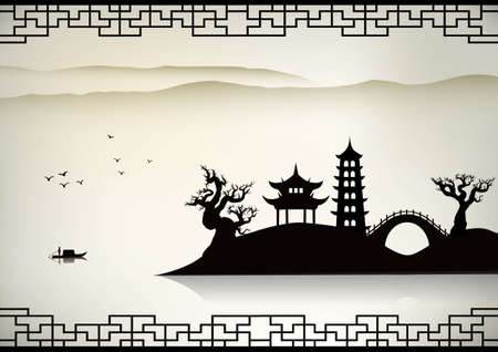 beautiful landscape: China landscape