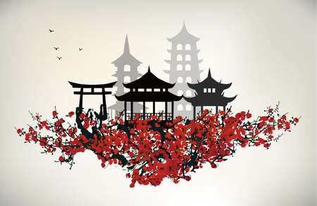 east asian culture: China city