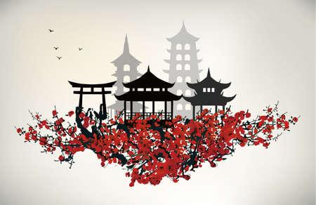 Chine ville Banque d'images - 32930720
