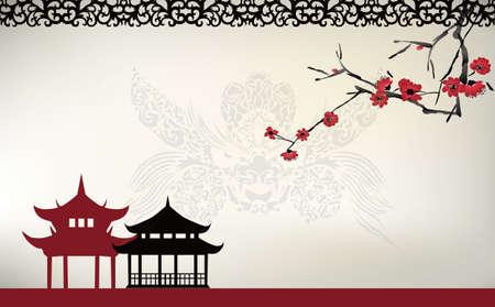 アジア風テーマ