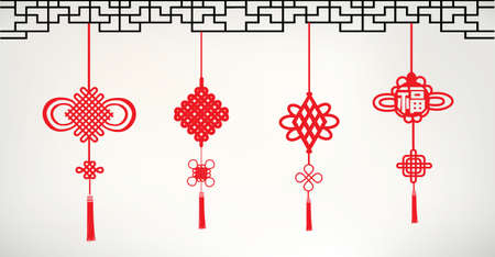 lucky symbol: Chinese knots