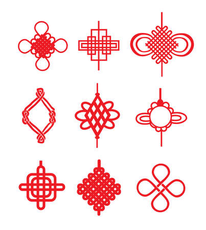 auspicious element: Chinese knots