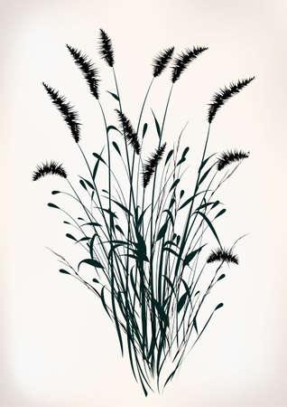 Gras Stock Illustratie