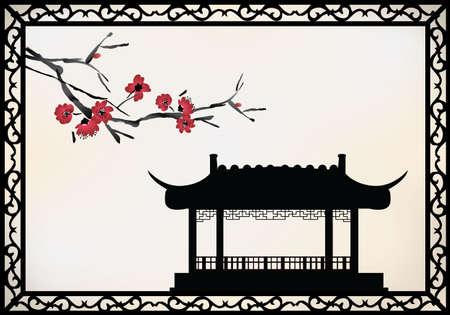 chinese pagoda: Pagoda