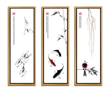 Chinese painting set