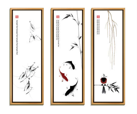 Chinese painting set
