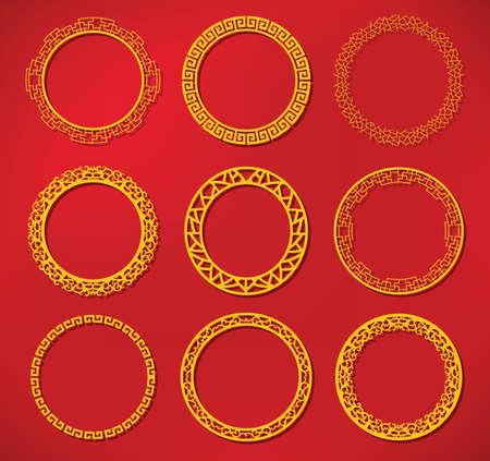 circulo de personas: marco chino