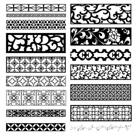 vintage design: decor pattern collections