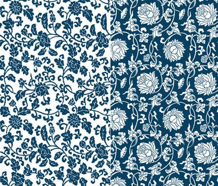 꽃 패턴 일러스트