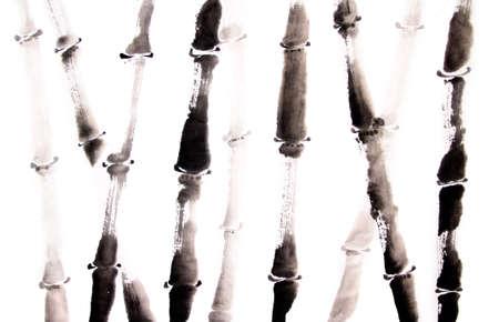 대나무 수묵화