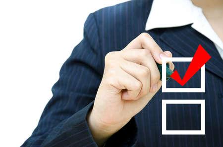 elenchi: D'Affari marchio scegliendo le caselle di controllo di molte opzioni.