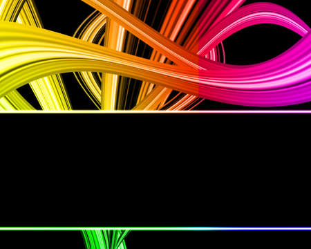 amplitude: Abstract rainbow multicolored bright with lights background