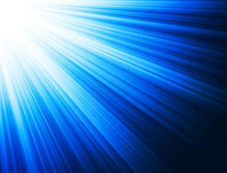 light beams: Abstract technology blue background. Stock Photo