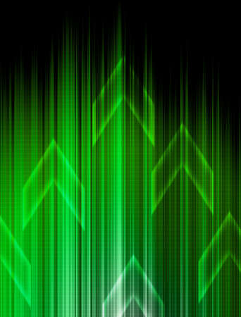 Abstract Green technology background. Stock Photo - 11574484