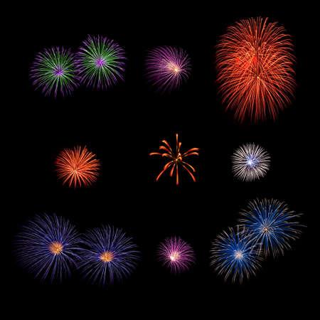exposure: Long Exposure of Fireworks