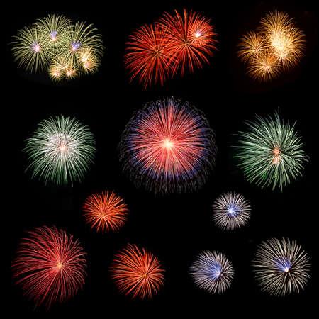long exposure: Long Exposure of Fireworks
