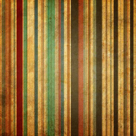 tigrato: Striped sfondo colorato nel modello retr�