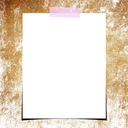 grunge paper and blank photo background photo