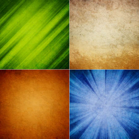 set of Vintage Style background with space for text Stock Photo - 19312235