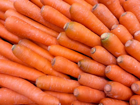 Many carrots Stock Photo