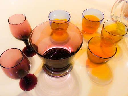 deadpan: Wine glass Stock Photo