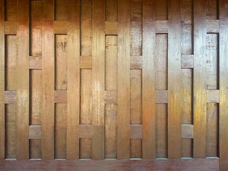 Thailand wooden wall photo