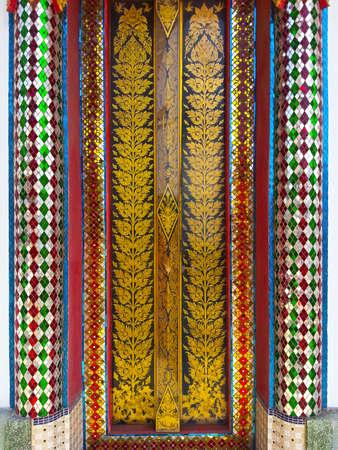 objected: Doors Thailand Stock Photo