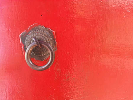 Chinese door knob photo
