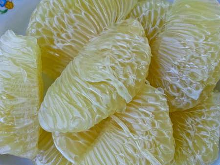 objected: Grapefruit texture Stock Photo
