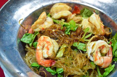 mingle: Shrimp vermicelli