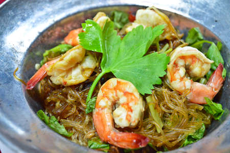 mingle: Shrimp vermicelli