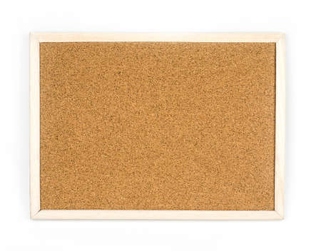 bulletin: Bulletin board isolate on white background, cork board.