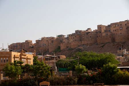 Jaisalmer Fort is situated in the city of Jaisalmer, in the Indian state of Rajasthan