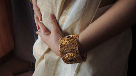 beautiful indian ethnic jewellery designs with model