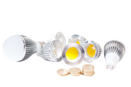 Electricity savings - using led lights instead of old fashioned bulbs.