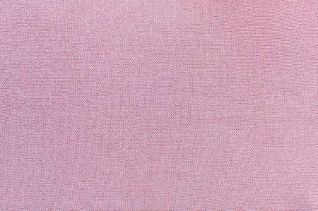 Pink background, knitting method, cotton and lurex threads. Stok Fotoğraf