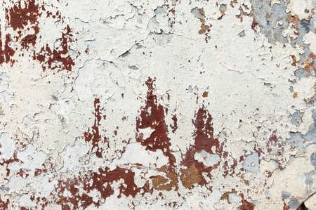 background old wall with peeling paint