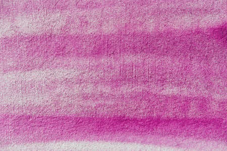 pink background: the white wall is unevenly painted with pink paint sprayed with an aerosol can Stok Fotoğraf