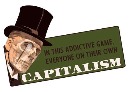 In this addictive game, everyone on their own - capitalism