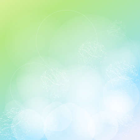 smeared: Blurry green background. Colorful abstract texture. Vector summer background. Vintage background. Art advertising template.