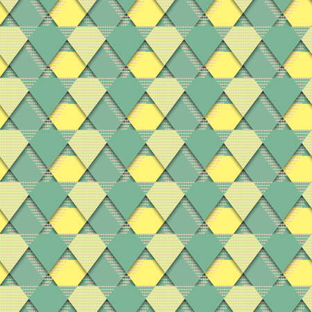 texture cloth: Vector seamless colorful pattern. Formless abstract element. Abstract texture. Colorful geometric background. Vector seamless texture. Grunge yellow and green texture. Cloth print. Vector fashion print