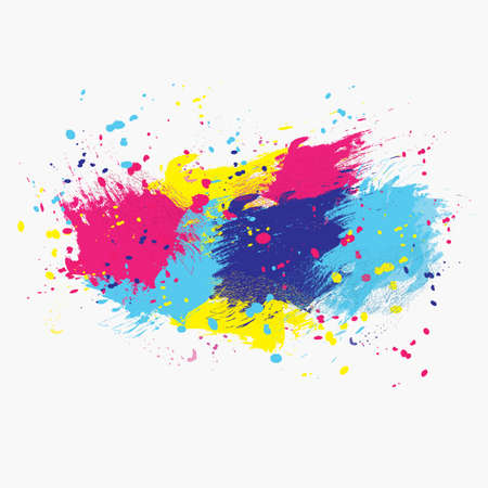 Vector watercolor background. Colorful abstract texture. Vector design elements. Grunge background. Vector watercolor splash