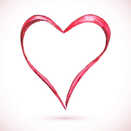 Frame-heart-ribbon