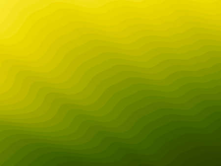 Blend-wave-yellow Illustration