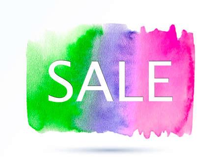 Sale-green-violet-pink