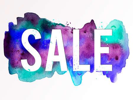 Sale-violet-green-blue