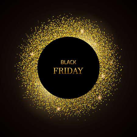 Gold black Friday