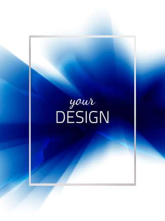 Frame-blend-blue Иллюстрация