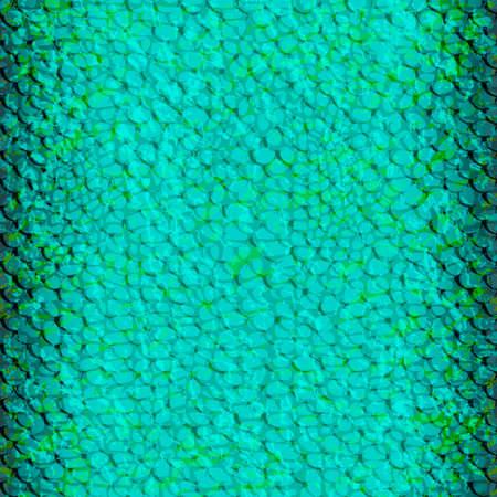 Pattern-amphibians-blue Illustration