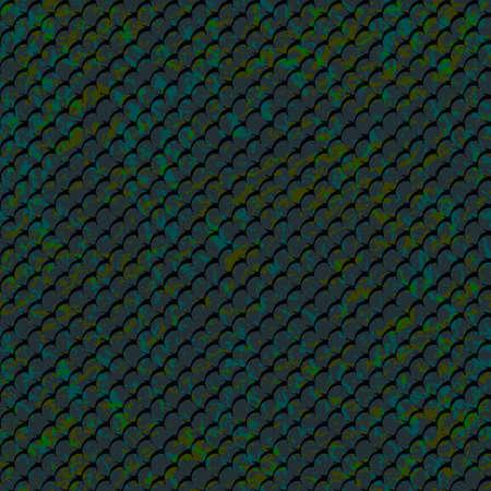 Pattern-fish-mosaic